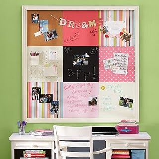 Pottery barn fabric bulletin board easy to diy could for Diy bulletin board for bedroom