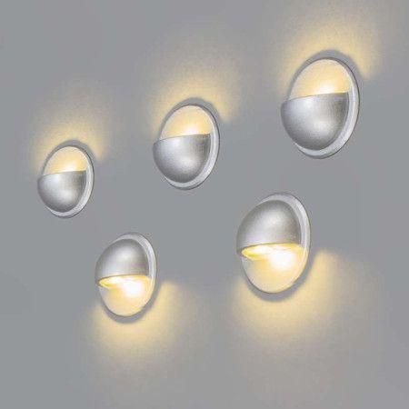 5er Einbauset Jock IP65 warmweiß: Schönes Set von fünf flachen LED-Einbauleuchten, komplett mit Transformator, Drähten und LEDs, sofort einsatzbereit. #Einbaustrahler #innenbeleuchtung #Außenbeleuchtung