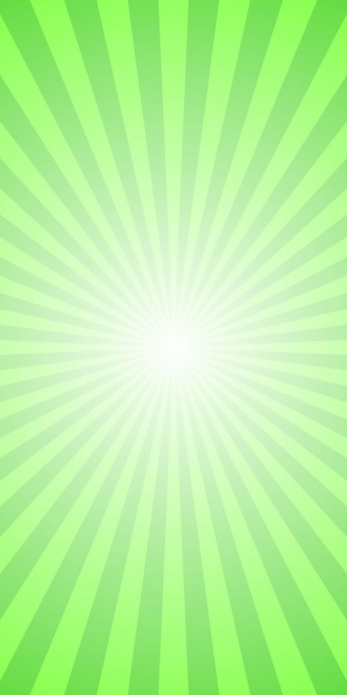 Abstract Ray Burst Background Green Motion Vector Graphic Design