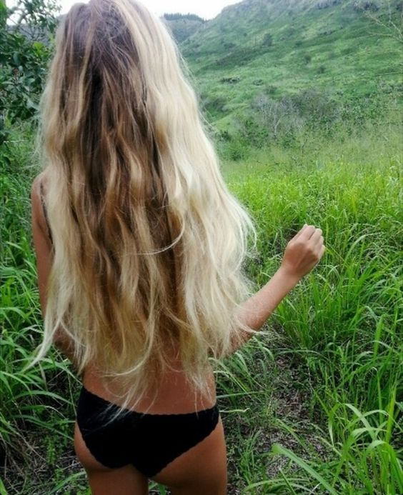 Wild and free - long hippie hair - loveeee