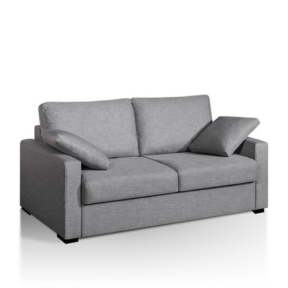 Canap lit couchage express microfibre timor for Canape lit la redoute