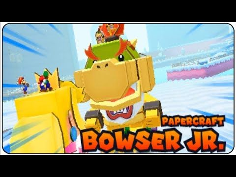 mario and luigi paper jam bowser jr