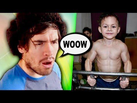 Los Niños Más Fuertes Del Mundo Youtube Niños Fuerte Youtube