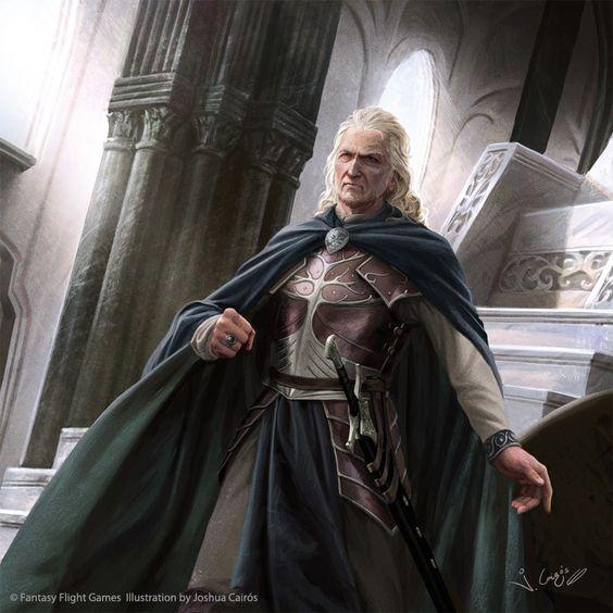 ArtStation - Denethor son of Ecthelion II, Joshua Cairos