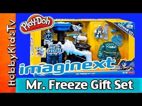 Imaginext DC Batman Mr. Freeze Headquarters Gift Set HobbyKidsTV ...