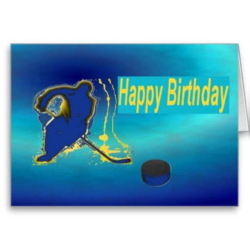Ice Hockey, Birthdays And Hockey On Pinterest