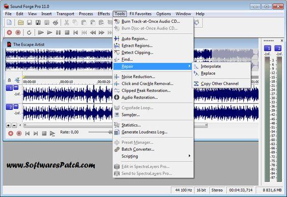 sound forge pro mac 1.0 crack