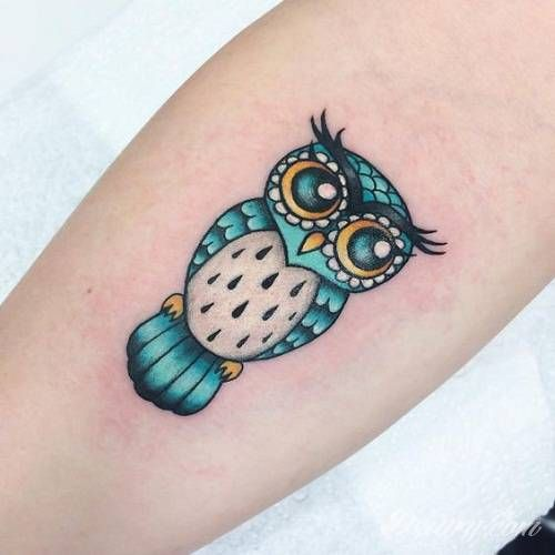 Zobacz Tatuaż Tatuaże Sowa Sowa Zwierzeta Wzory
