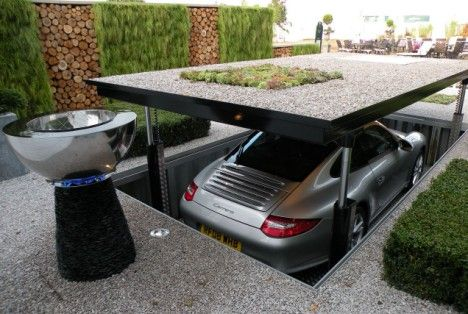 Parking in style.