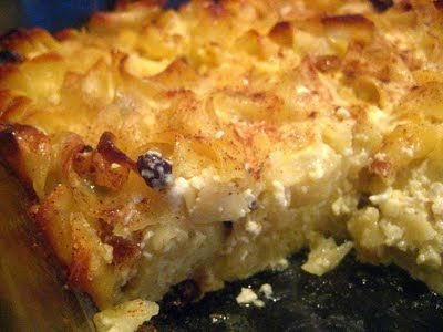 Kugel, aka noodle pudding | KUGELS | Pinterest | Noodles and Puddings