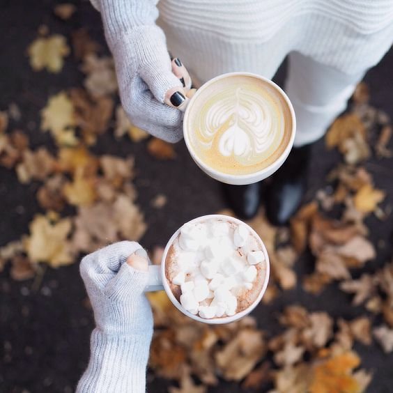 Coziness and cappuccinos.