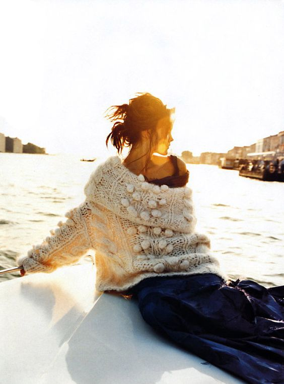 Venice Observed | Elle September 1999 May Andersen by Gilles Bensimon Christian Dior | Fall 1999 RTW