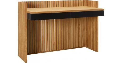 Myrra Bureau 160 Cm Noir Chene Design By Helena Pille Mobilier De Salon Luminaire Design Et Bureau