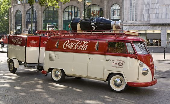 Cool panel van and trailer