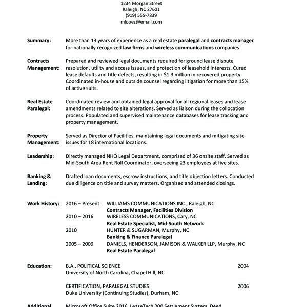 Resume Examples By Industry And Job Title Resume Writing