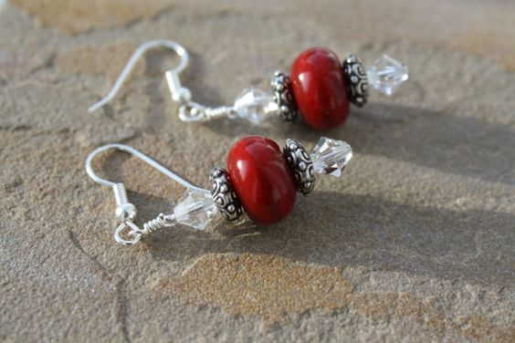 Hey, I found this really awesome Etsy listing at http://www.etsy.com/listing/170165773/red-earrings-red-christmas-earrings