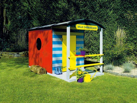 """Kinderspielhaus """"Villa Sonnenschein"""" Hier geht's zur Anleitung: http://www.toom-baumarkt.de/selbermachen/selbstbauideen/kinderspielhaus-villa-sonnenschein/ #toom #Baumarkt #toomBaumarkt #toomTeam #Heimwerken #DIY"""