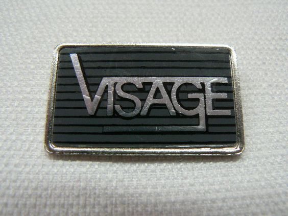 Rare Vintage Early 1980s Visage / Steve Strange / New Romantic Silver Pin / Badge - Made in England by beatbopboom on Etsy