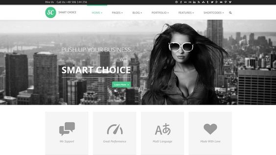 SmartChoice is a powerful and elegant Multi-Purpose WordPress Theme.