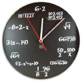 Mai dire solo foto - (Never say just photos): Che ore sono ? Sono le ore, sei per due e x minuti, della formula algebrica, meno otto uguale due meno ics