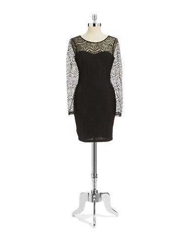 Women's | Dresses | Arielle Textured Knit Dress | Hudson's Bay Guess
