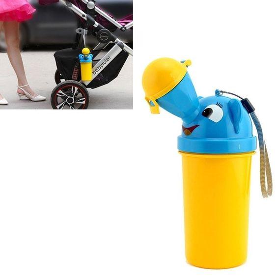 QW Portable Children Urinal / Car Urine Bottle for Boy