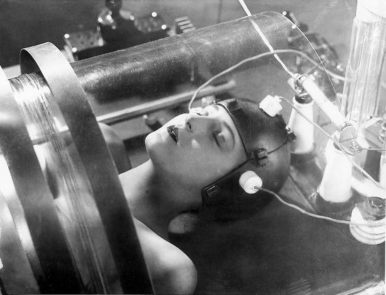photo noir et blanc : Metropolis 1927