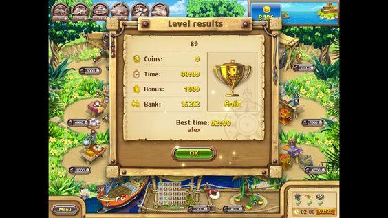 Farm Frenzy Gone Fishing only GOLD (level 89) Веселая ферма Рыбный день (Уровень 89) Золото
