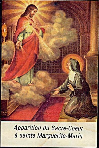 Apparition du Sacre-Coeur