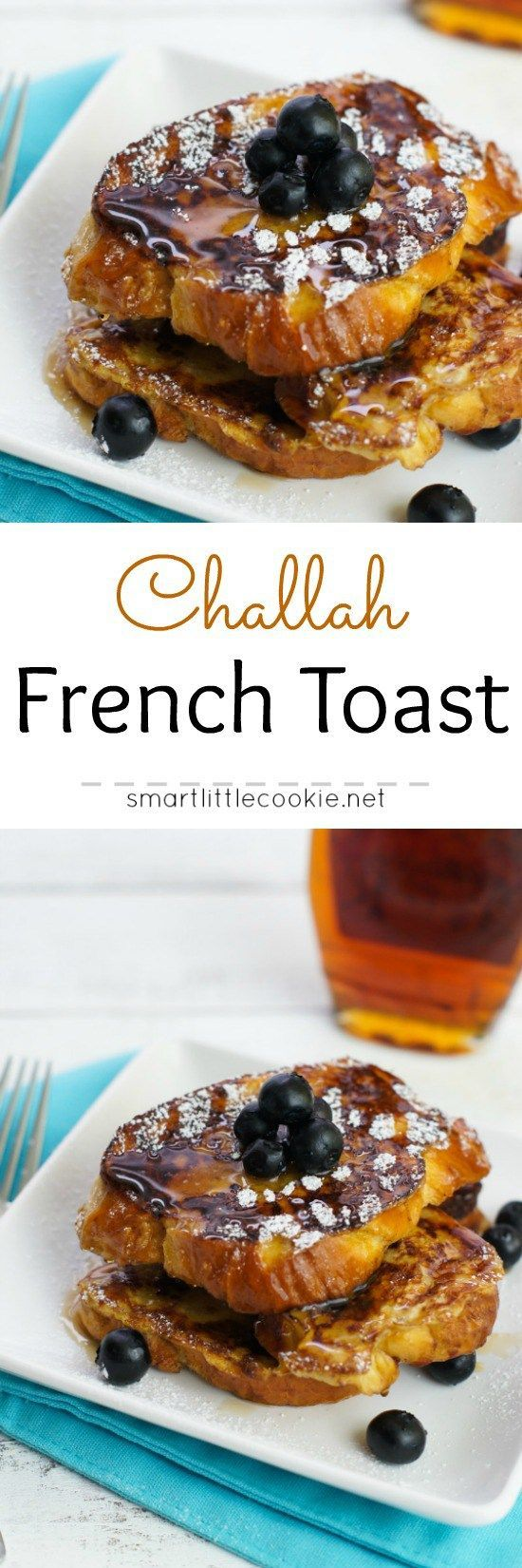 Challah French Toast ~ This classic french toast made with challah ...