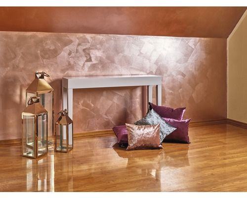 Wandfarbe Stylecolor Rosegold 2 5 L Bei Hornbach Kaufen Wandfarbe Farben Und Tapeten Wandfarbe Gold