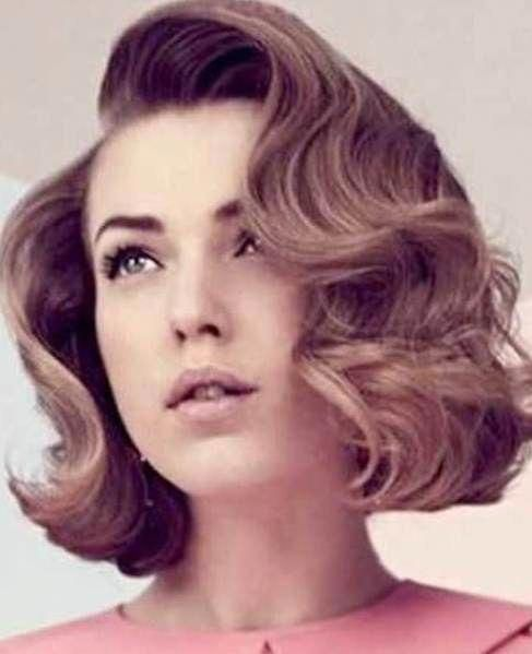 Retro Short Haircuts For Curly Hair Short Haircuts For Curly Hair Curlyhairtrends Vintage Short Hair Prom Hairstyles For Short Hair Retro Hairstyles