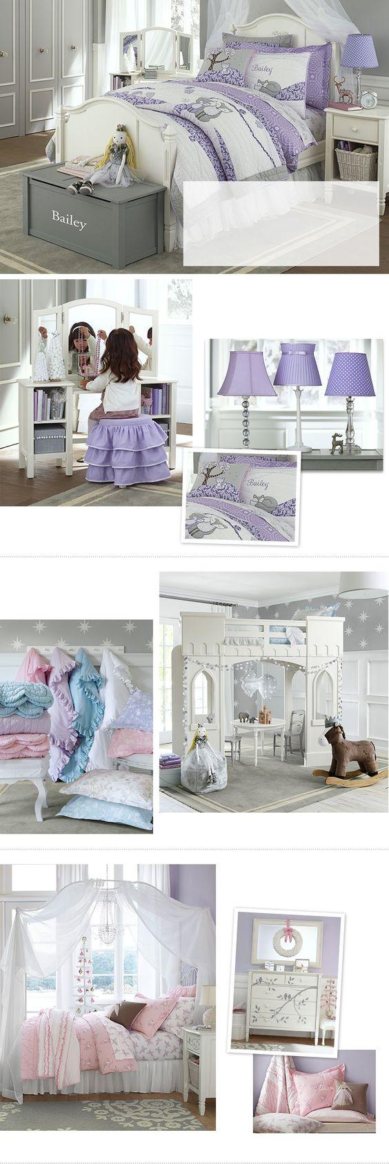 Girls Bedroom Ideas & Girls Room Ideas | Pottery Barn Kids: