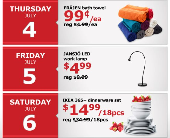 july 4th sales ikea