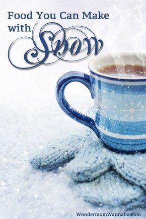 Snow Recipes
