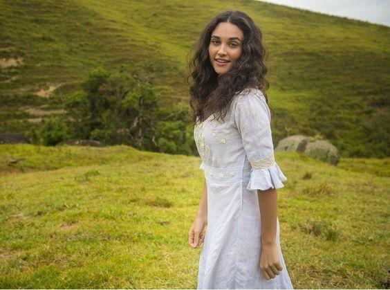 """Débora Nascimento: """"Falei com o Walcyr (Carrasco) e ele está feliz com a minha Filomena""""  (Foto: João Cotta/ TV Globo)"""