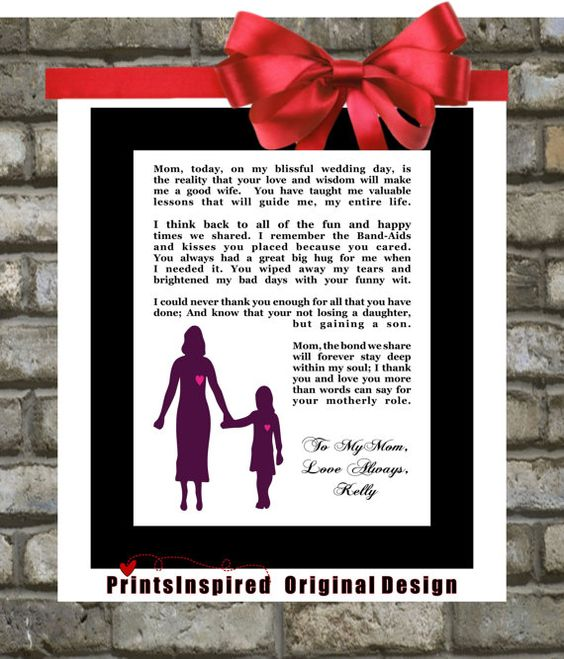 Wedding Gift Poem For Dollars : ... wedding gifts for parents gift for parents gifts for mom parent gifts
