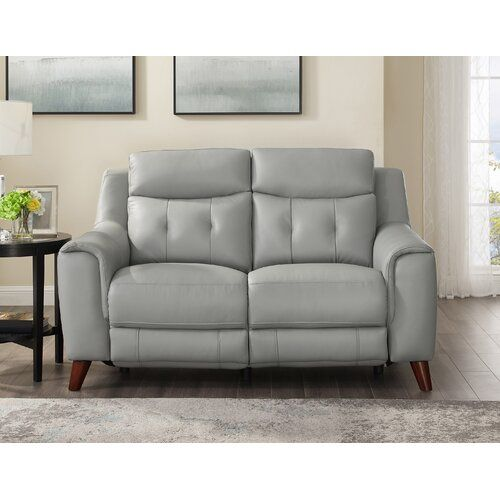 New Wrought Studio Tortuga Leather Reclining Loveseat Free Shipping Online In 2020 Power Reclining Loveseat Furniture Love Seat