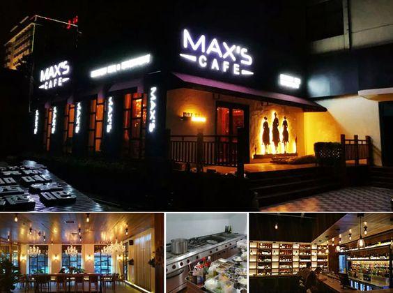 MAXS CAFE In Shanxi(China) RestaurantKitchen Equipment | Restaurant Equipment | Catering Equipment | Hotel Equipment In China