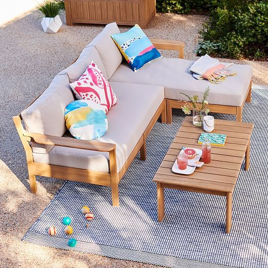 Playa Set 17: Reversible Sectional | Outdoor furniture sets ...