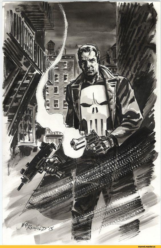 Bill Reinhold, Punisher