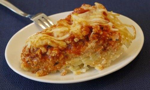 Crock Pot Spaghetti Pie?  YES PLEASE!!
