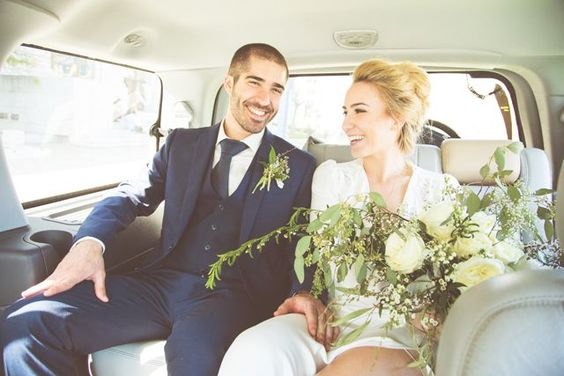 Those smiles are everything.  #refinery29 http://www.refinery29.com/san-francisco-city-hall-wedding#slide-9