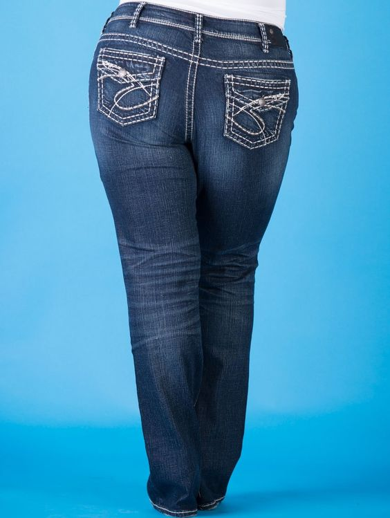 new skinny boot cut plus size silver jeans latest styles 03 #plus #plussize #curvy