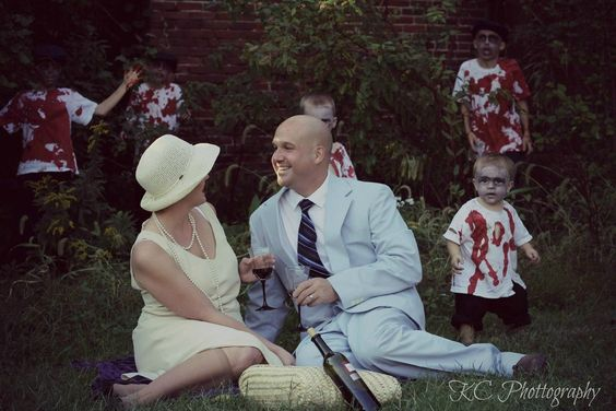 Family photos...avec zombies