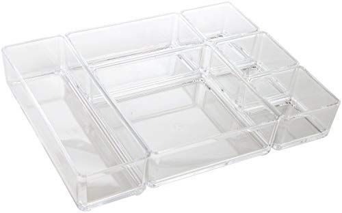 Amazon Com Arad Clear Acrylic Office Tool Craft Organizer Set