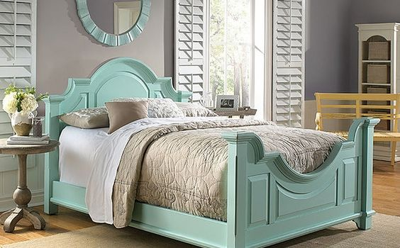 Chesapeake Arched Bed or Headboard <font color=a8bb35> Most colors stocked</font>