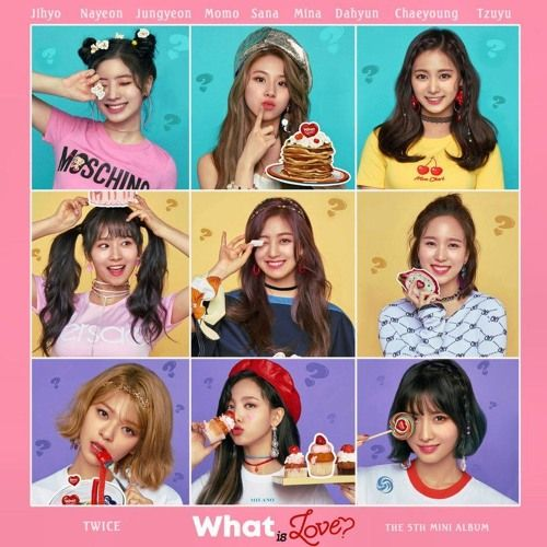 What is Love? (Chipmunk Edition) by luna | Twice what is love, What is love, Album covers