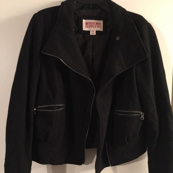 Mossimo jacket xl black mossimo jacket xl nothing wrong with it at all . Smoke free cat free home Mossimo Supply Co Jackets & Coats Blazers