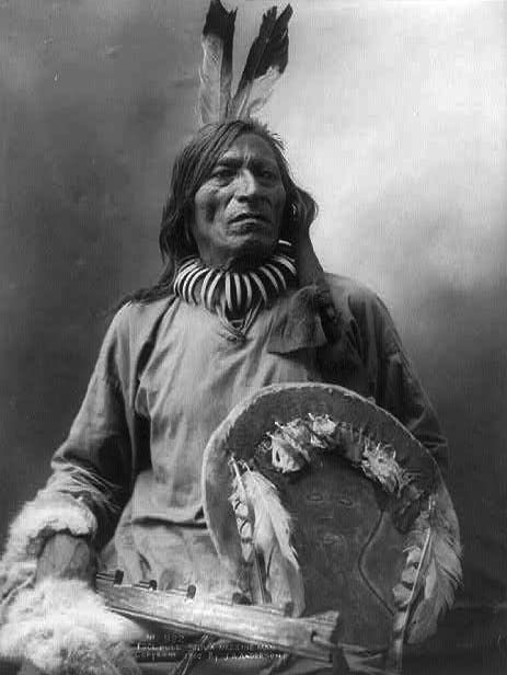 Lakota Medicine Man c. - 1900.